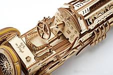 Механические 3D пазлы UGEARS - «Спорткар U-9 Гран-при», фото 2
