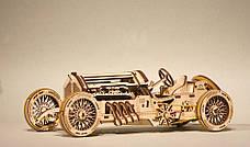 Механические 3D пазлы UGEARS - «Спорткар U-9 Гран-при», фото 3