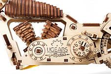 Механические 3D пазлы UGEARS - «Байк VM-02», фото 2