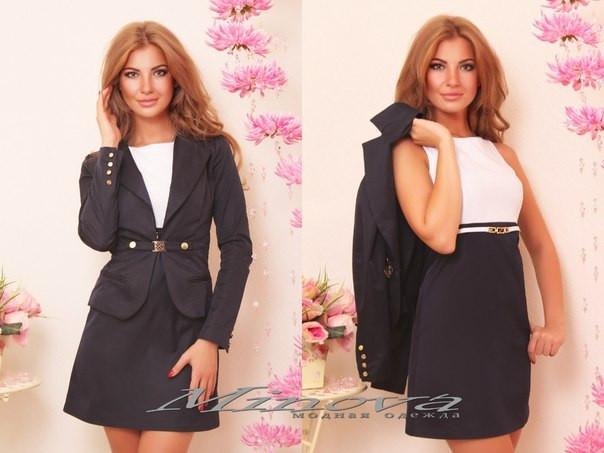 """Стильный молодежный пиджак """" Классика """" Dress Code, фото 1"""