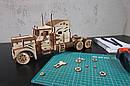 Механические 3D пазлы UGEARS - «Тягач VM-03», фото 7