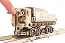Механические 3D пазлы UGEARS - «Локомотив c тендером V-Экспресс», фото 6