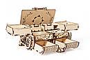 Механические 3D пазлы UGEARS - «Антикварная шкатулка», фото 4