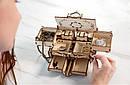 Механические 3D пазлы UGEARS - «Антикварная шкатулка», фото 7