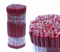 Свечи восковые, красные (0.5 кг.)