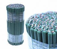 Свечи восковые, зелёные (0.5 кг.)
