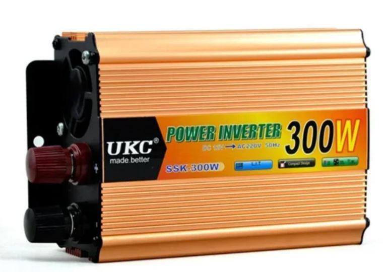 Преобразователь авто инвертор UKC 7062 24V-220V 300W