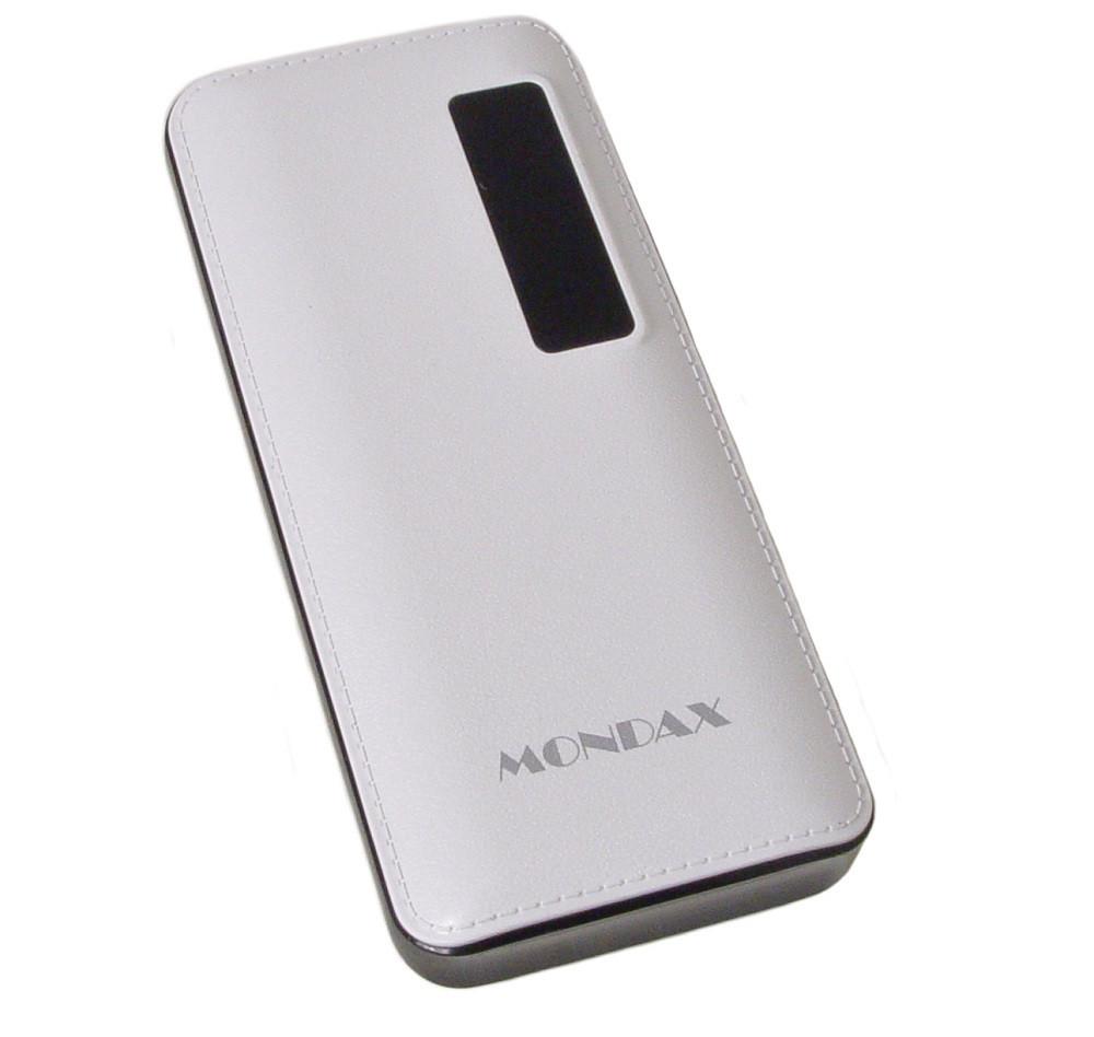 УМБ портативное зарядное Power Bank Mondax SC-12 42000 mAh с фонариком, белое