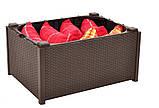Комплект садовой мебели Allibert by Keter Provence Box Set Brown ( коричневый ) искусственный ротанг, фото 7