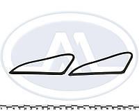 Уплотнитель заднего бокового стекла ВАЗ 2170 (к-т 2 шт.) глухие