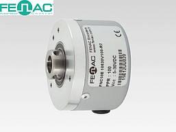 Энкодер круговых перемещений FNC 50Е (2500 имп/об, 10 мм полый вал, 5-30В)