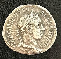 Древний Рим Септимий Север Денарий, фото 1