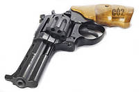 Интересная новинка! Револьвер Safari РФ 441 М , нарезной ствол, стальной УСМ, буковая рукоять - цена 1945 грн.