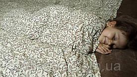 Двуспальное утяжеленное одеяло. 170х210см, 9кг, с гречневой лузгой (шелухой).