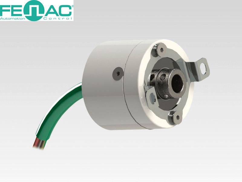 Энкодер круговых перемещений FNC 30Е (полый вал, 5-30В)