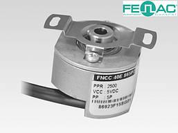 Энкодер круговых перемещений FNC 40Е (полый вал, 5-30В)