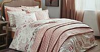 Евро комплект постельного белья с покрывалом Tac, фото 1