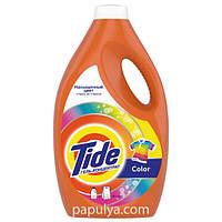 Жидкий стиральный порошок концентрат Tide Color, 38 стирок, 2.47 л = 5,7 кг