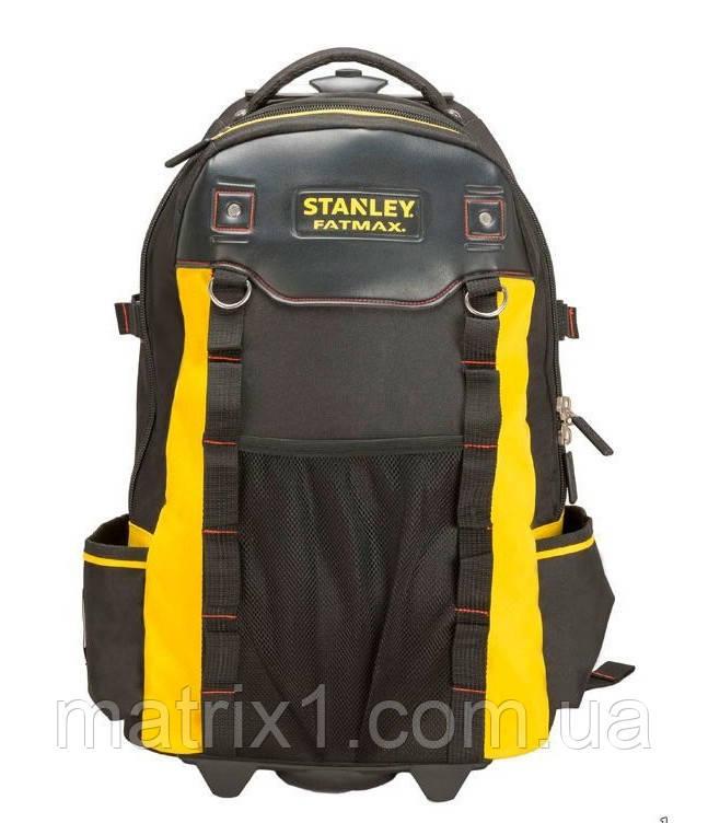 """Рюкзак для инструмента  STANLEY """"FATMAX"""" с колесами 36 х 23 х 54  см"""
