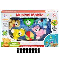 Карусель музыкальная (мягкая игрушка) в коробке 699-8A