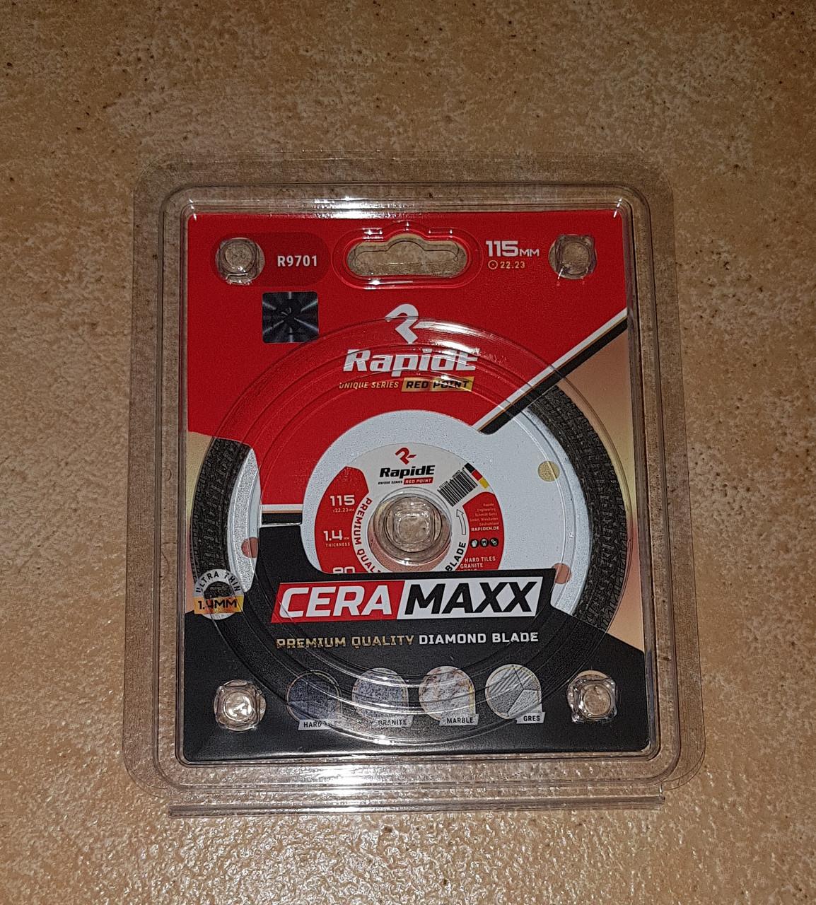 Алмазный отрезной диск RapidE 180мм*25.4/22.23