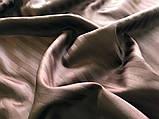 Постельное белье Сатин-страйп 1*1 Dark Chocolate, фото 2