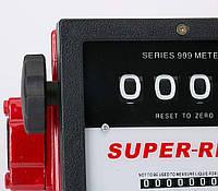 """Механический счетчик для дизельного топлива, бензина, керосина 150л/мин.  1,5"""", фото 1"""