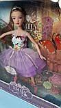 """Кукла """"Emily Фея"""" с крыльями, бабочки QJ093D, фото 3"""