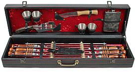 Шашлычный набор подарочный в кейсе Кизляр №2