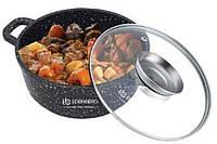 Сотейник +крышка с отверстием для масла Edenberg EB-8120 - 6.5л/28см