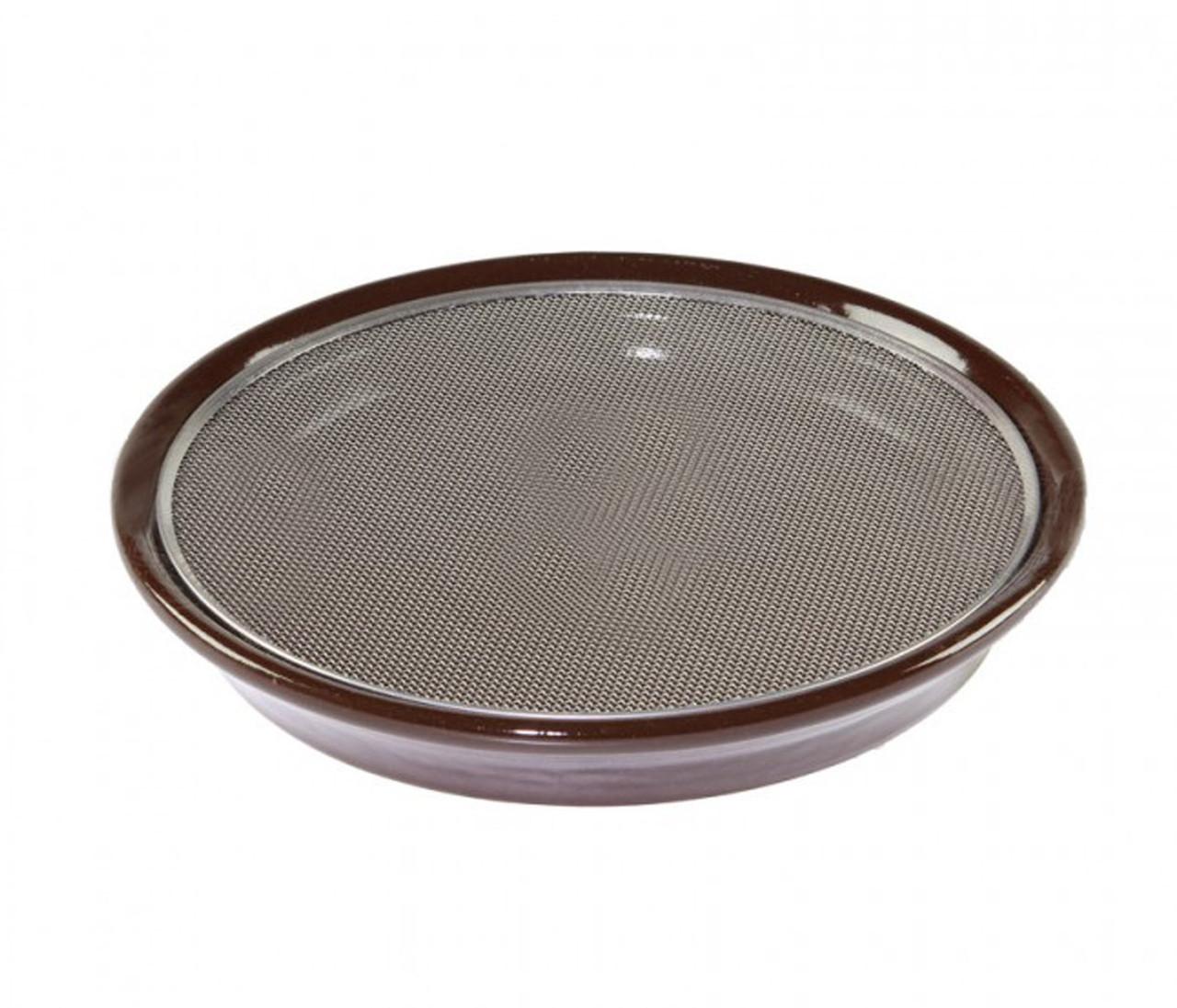 eschenfelder Тарелка для кресс-салатов Eschenfelder коричневая 21,5 см