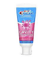 Crest, Kids Fluoride Anticavity Toothpaste, Bubblegum Rush, зубная паста для деток от 2 лет, 119 г