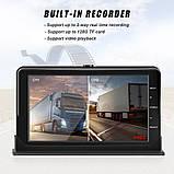 Система парковки и видеорегистратор  для грузовика SAMFIWI DVR 201 (Монитор 7 дюймов + 1 камера 12-24V), фото 5