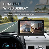 Система парковки и видеорегистратор  для грузовика SAMFIWI DVR 201 (Монитор 7 дюймов + 1 камера 12-24V), фото 9