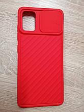 Чехол Samsung A51 / M40S Curtain Red