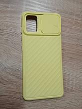 Чехол Samsung A51 / M40S Curtain Yellow