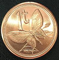 Монета Папуа и Новой Гвинеи 1 тоа 2004 г., фото 1