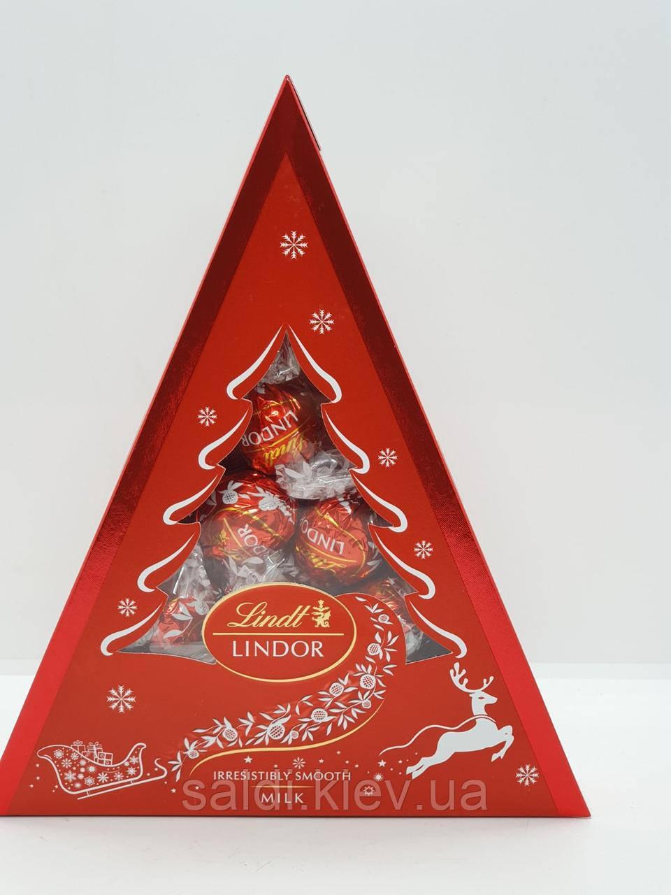 """Lindt Lindor шоколадные конфеты """"Cornet Milk"""" 125g"""