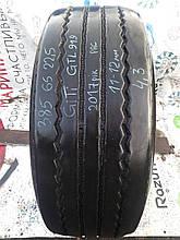 Грузовая шина б/у 385/65 R22.5 GiTi GTL919, 11-12 мм, одна