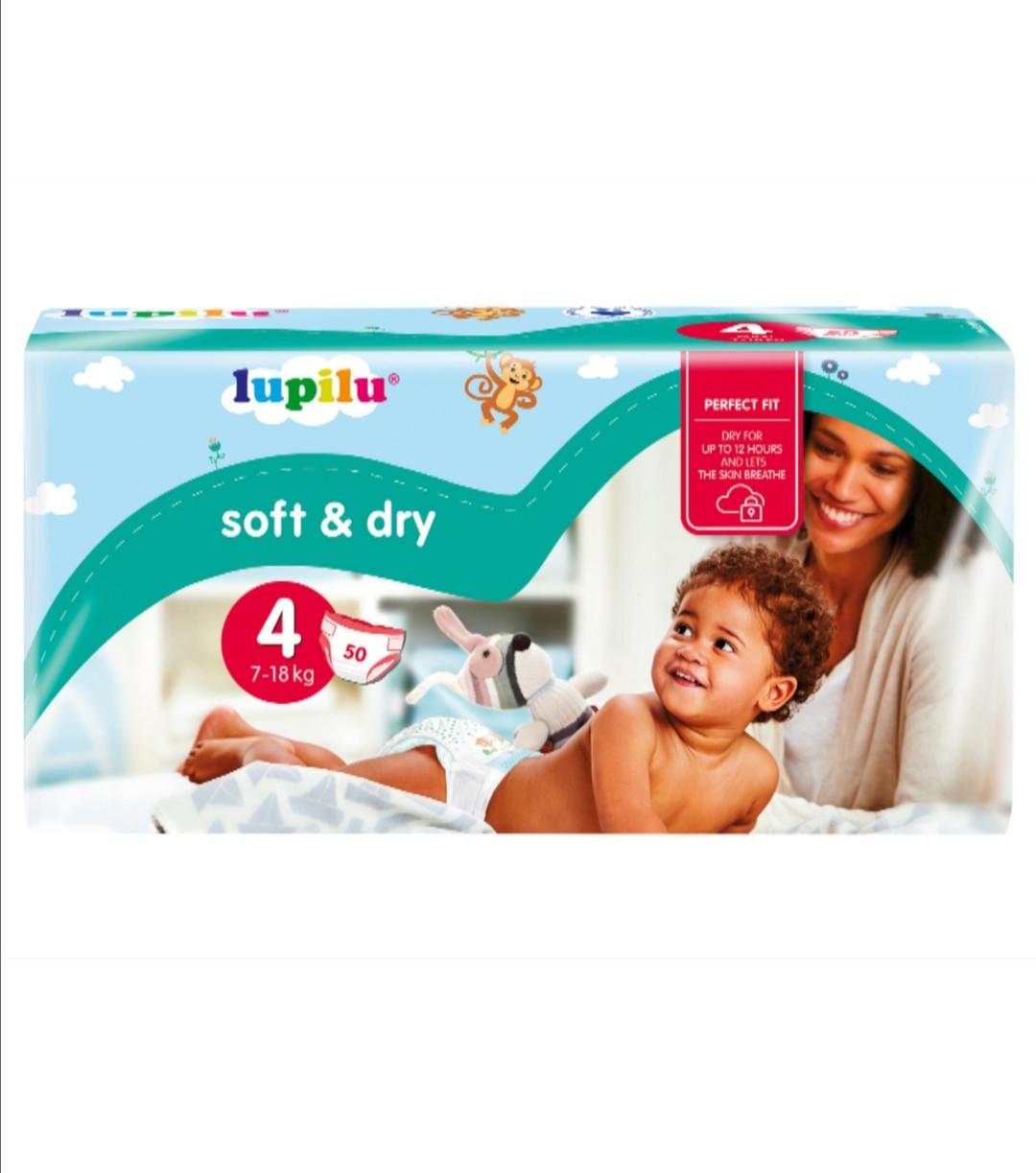 Подгузники Lupilu Soft & Dry №4 (7-18 кг) 50 шт.