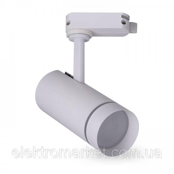 Трековий світильник Feron AL106 18W білий