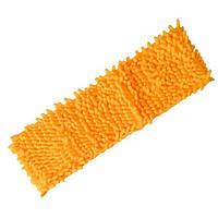 Запаска микрофибра для полотеров Лапша Макси Feniks оранжевая 50см