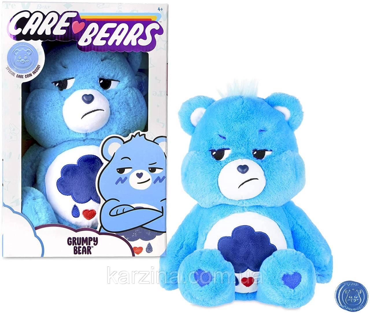 Заботливый плюшевый мишка тучка Care Bears Grumpy Bear Stuffed Animal