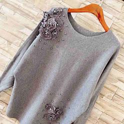 Женский свитер, кардиган