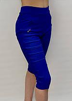 Бриджи женские яркие в больших размерах - хлопок 2XL - 7XL  Капри женские батал  D&A ( Польша ), фото 3