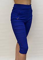 Бриджи женские яркие в больших размерах - хлопок 2XL - 7XL  Капри женские батал  D&A ( Польша ), фото 2