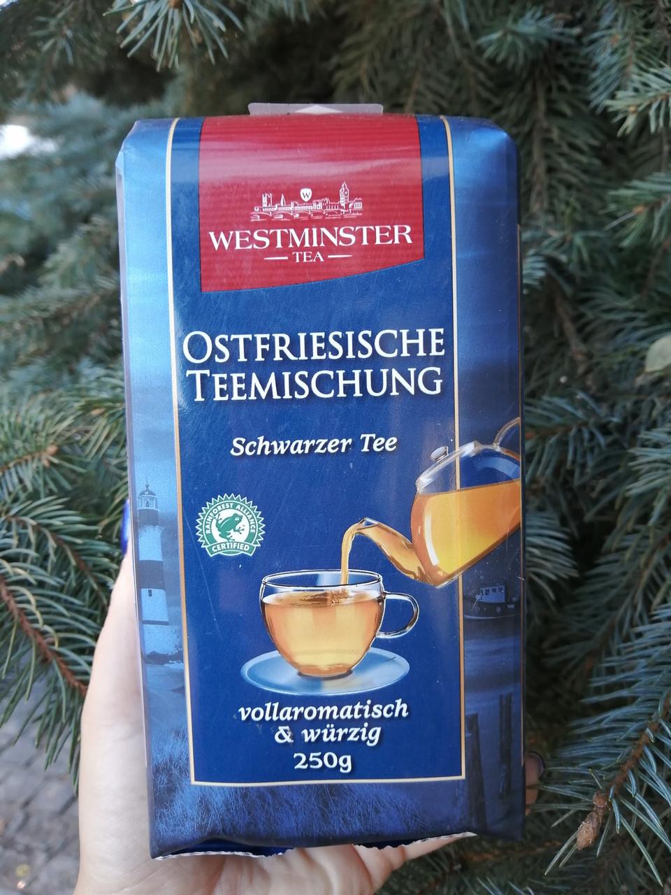 Westminster tea