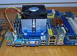 AM3 материнская плата ASRock N68C-S UCC + Процессор AMD Athlon X2 4000+, фото 4