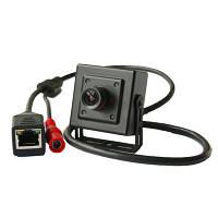 Мини HD720P мегапиксельная IP камера видеонаблюдения с разрешением 1280*720 и углом  67 градусов (TOP-201)