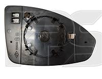Вкладыш  зеркала правого Chevrolet Cruze 2009-2015 с обогревом